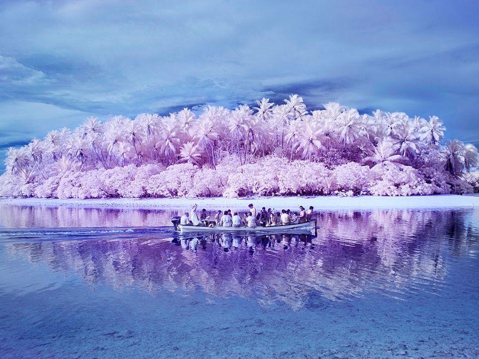 La isla de los daltónicos, donde el paraíso tiene un color diferente