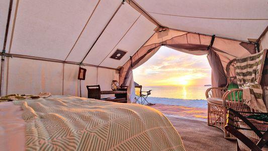 Los mejores resorts para acampar rodeado de lujo