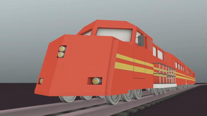 Tren descontrolado