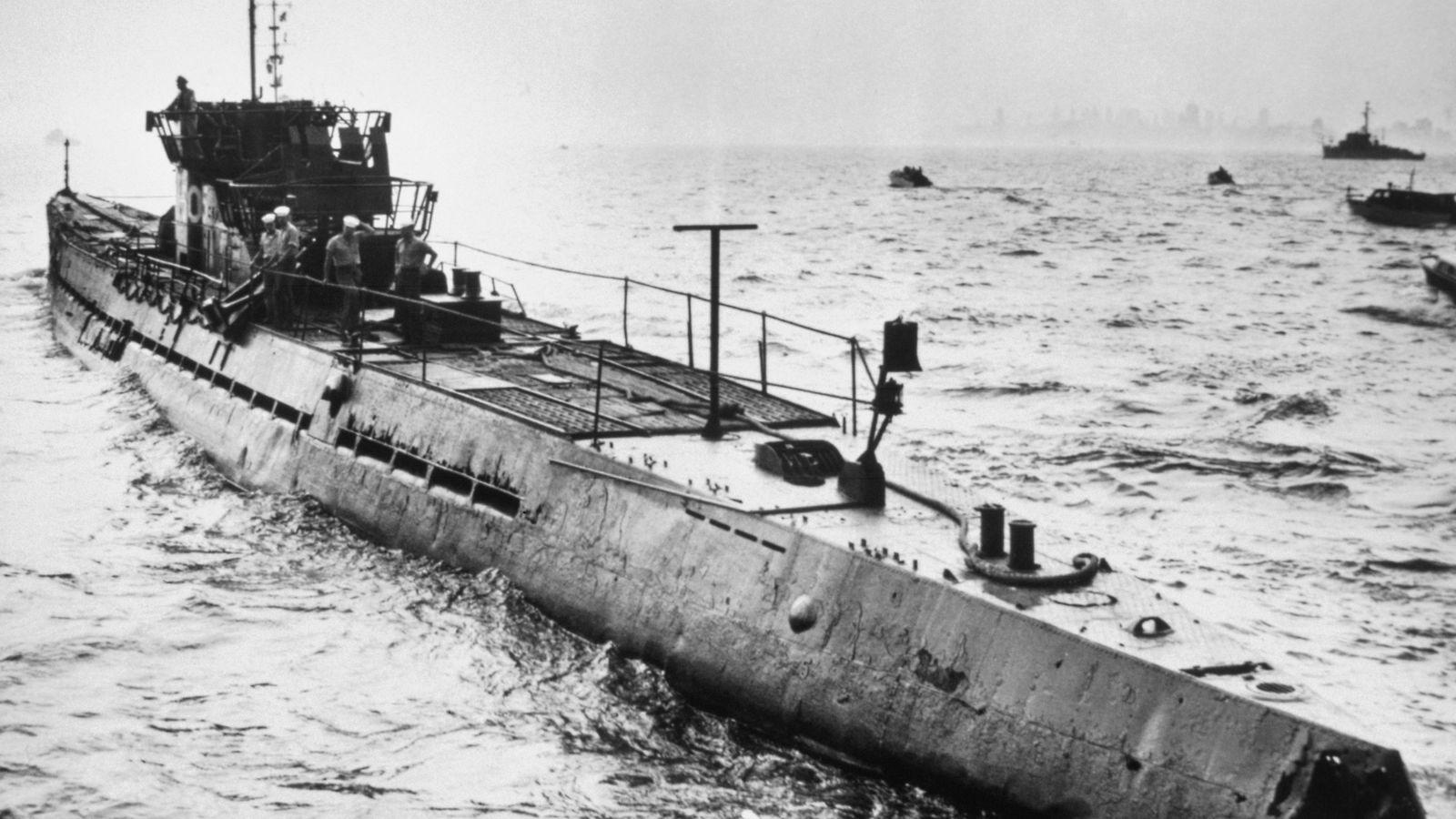 Submarinos alemanes en el Atlántico