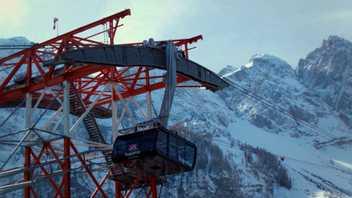 Vídeo: El teleférico de Zugspitze