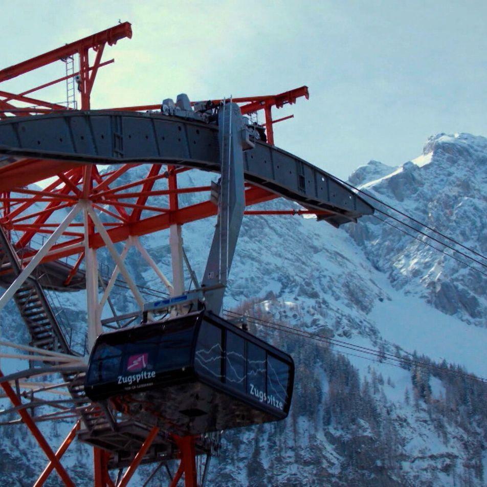 El teleférico de Zugspitze