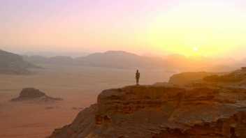 El impresionante paisaje de Uadi Rum