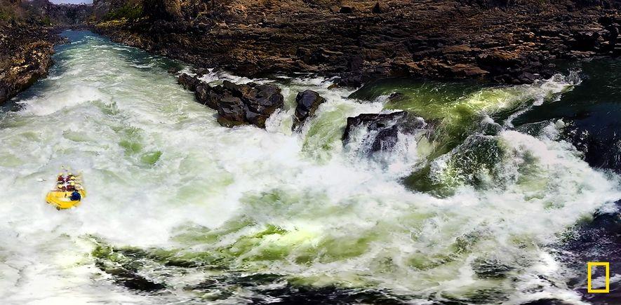Las cataratas Victoria en 360 grados: los cañones