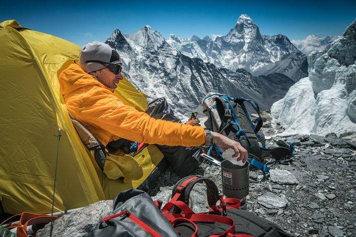 Cory Richards, Tibet