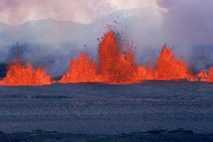 El volcán Krafla entra en erupción