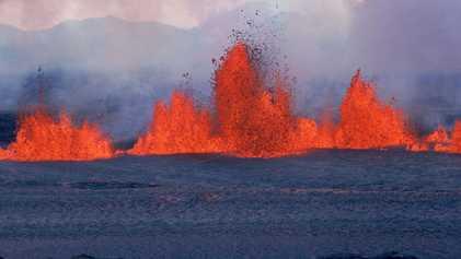 Los volcanes albergan depósitos ocultos de magma potencialmente explosivo a su alrededor