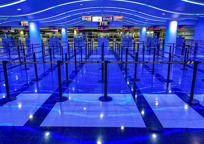 Aeropuerto Internacional O'Hare de Chicago