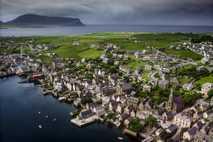 Fotografía aérea de Stromness