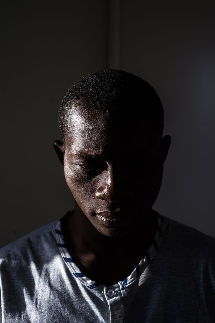 Inmigrante de Costa de Marfil