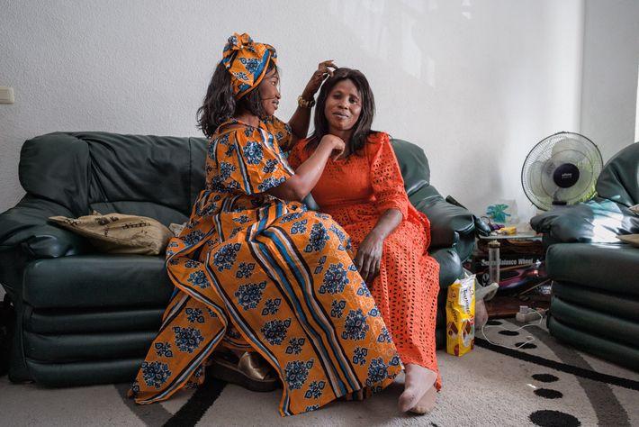 Fatou Ndoye y Hawka Diallo