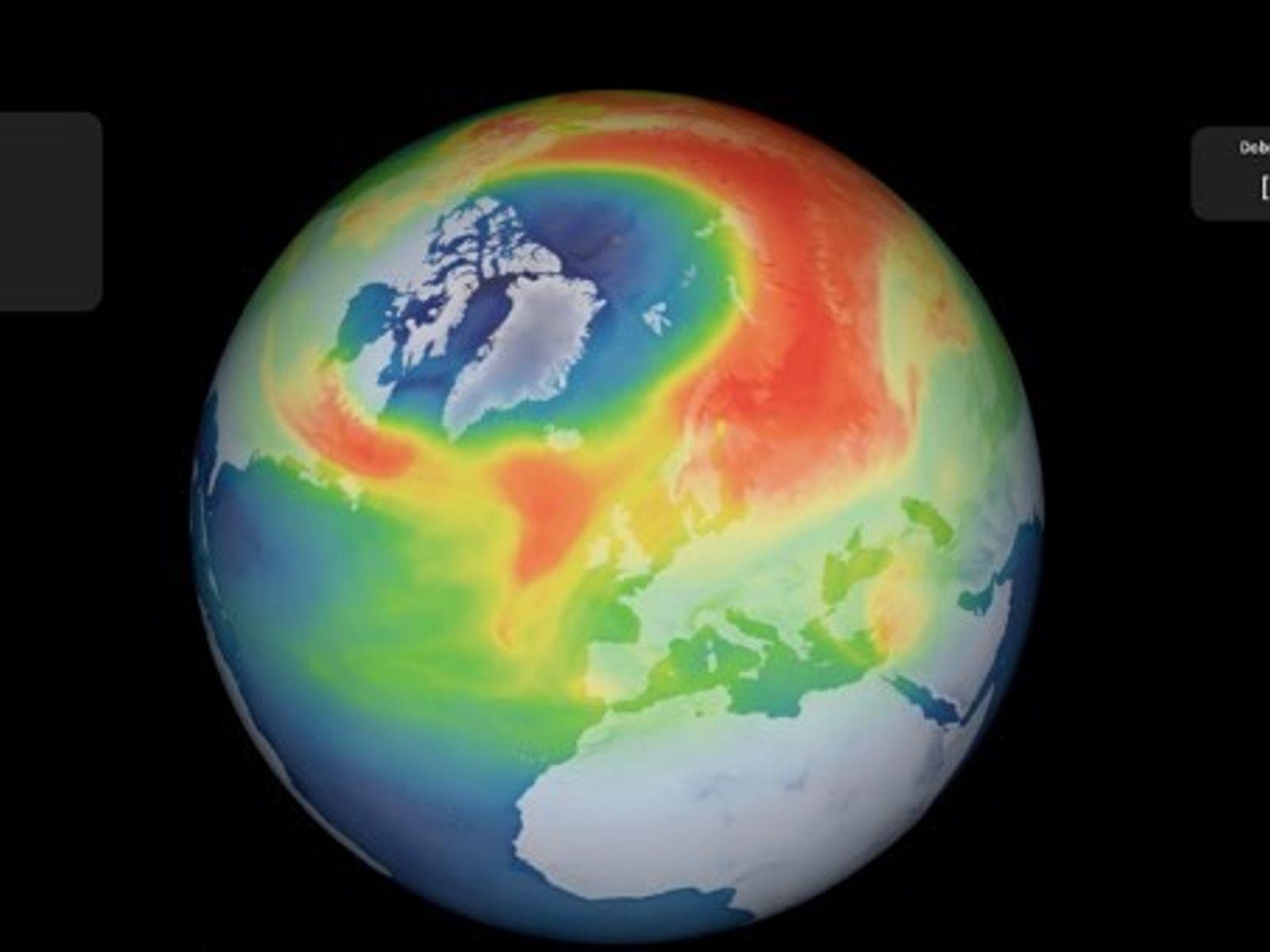 El año 2020 ha observado un récord en disminución de la capa de ozono en el ...