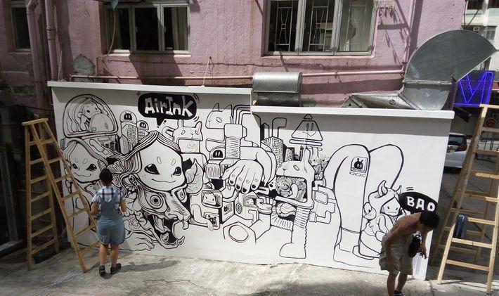 Arte con Air Ink