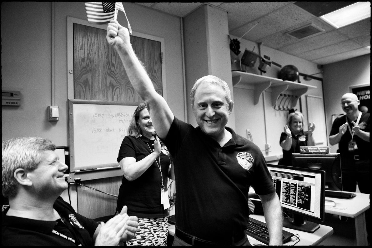 Alan Stern y el equipo de New Horizons