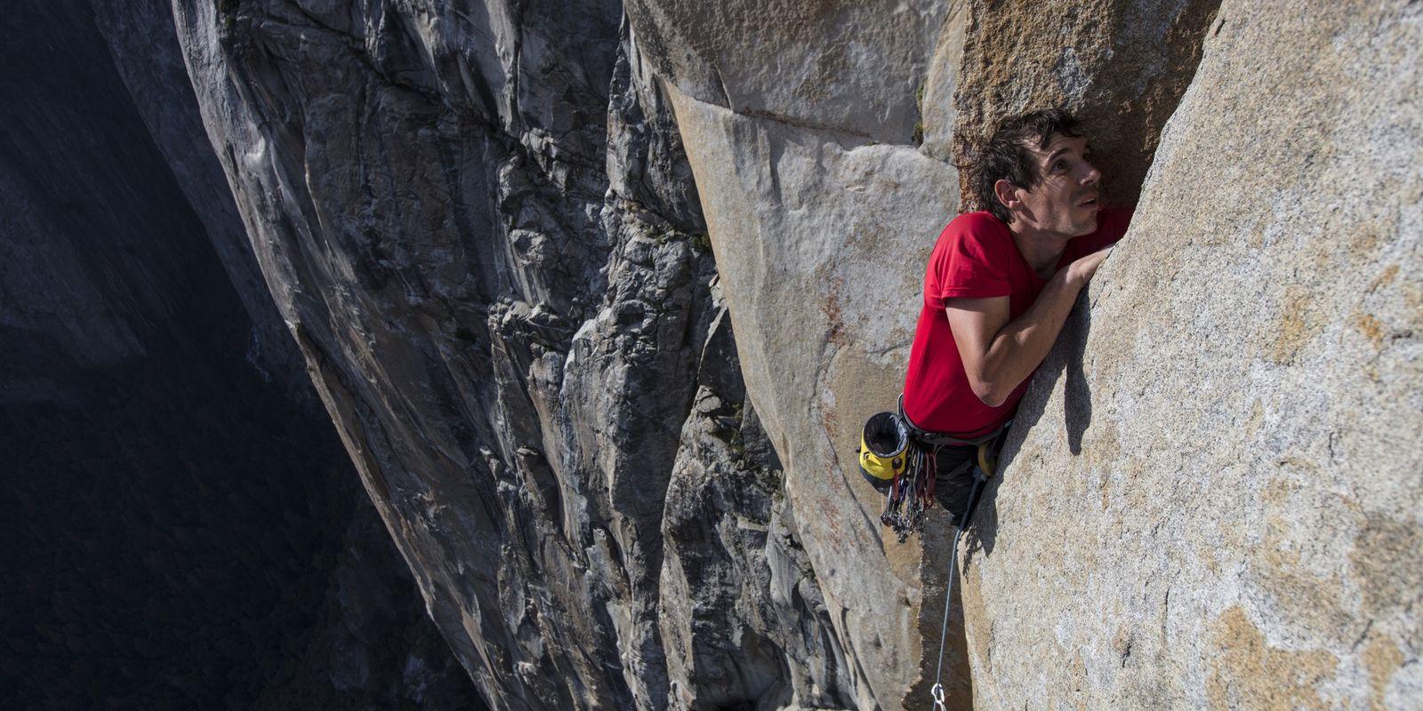 Alex Honnold: entrenando para la escalada de su vida