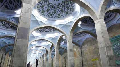 Te mostramos el interior del metro de Uzbekistán