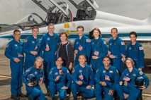 Promoción de candidatos a astronautas