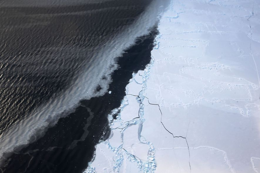 Deshielo en la Antártida