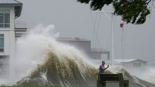 Las impactantes imágenes del huracán Ida a su paso por Luisiana