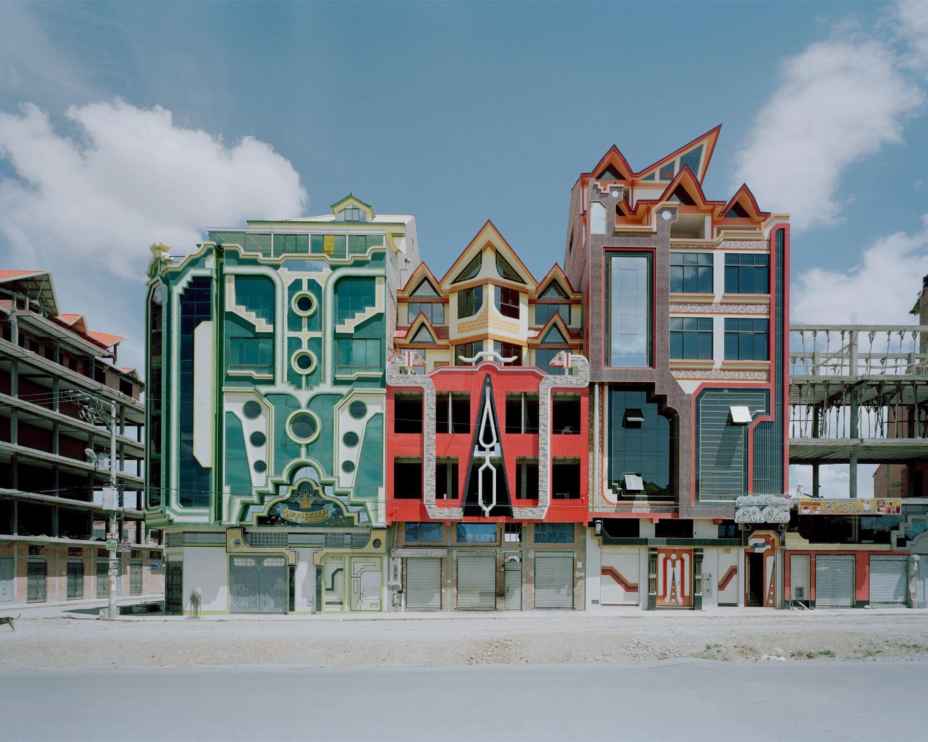 Edificios de El Alto
