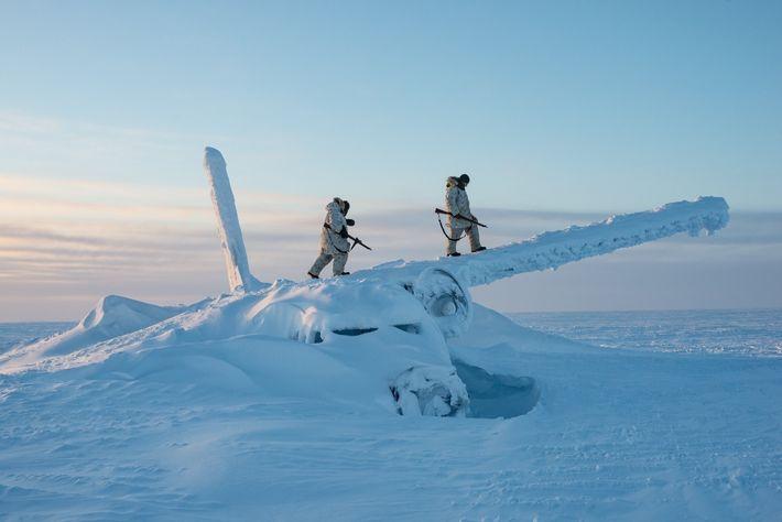 Guerra fría en el Ártico