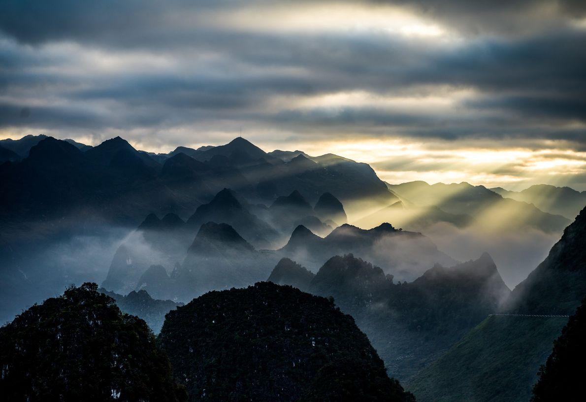 Ha Giang: Desde arriba