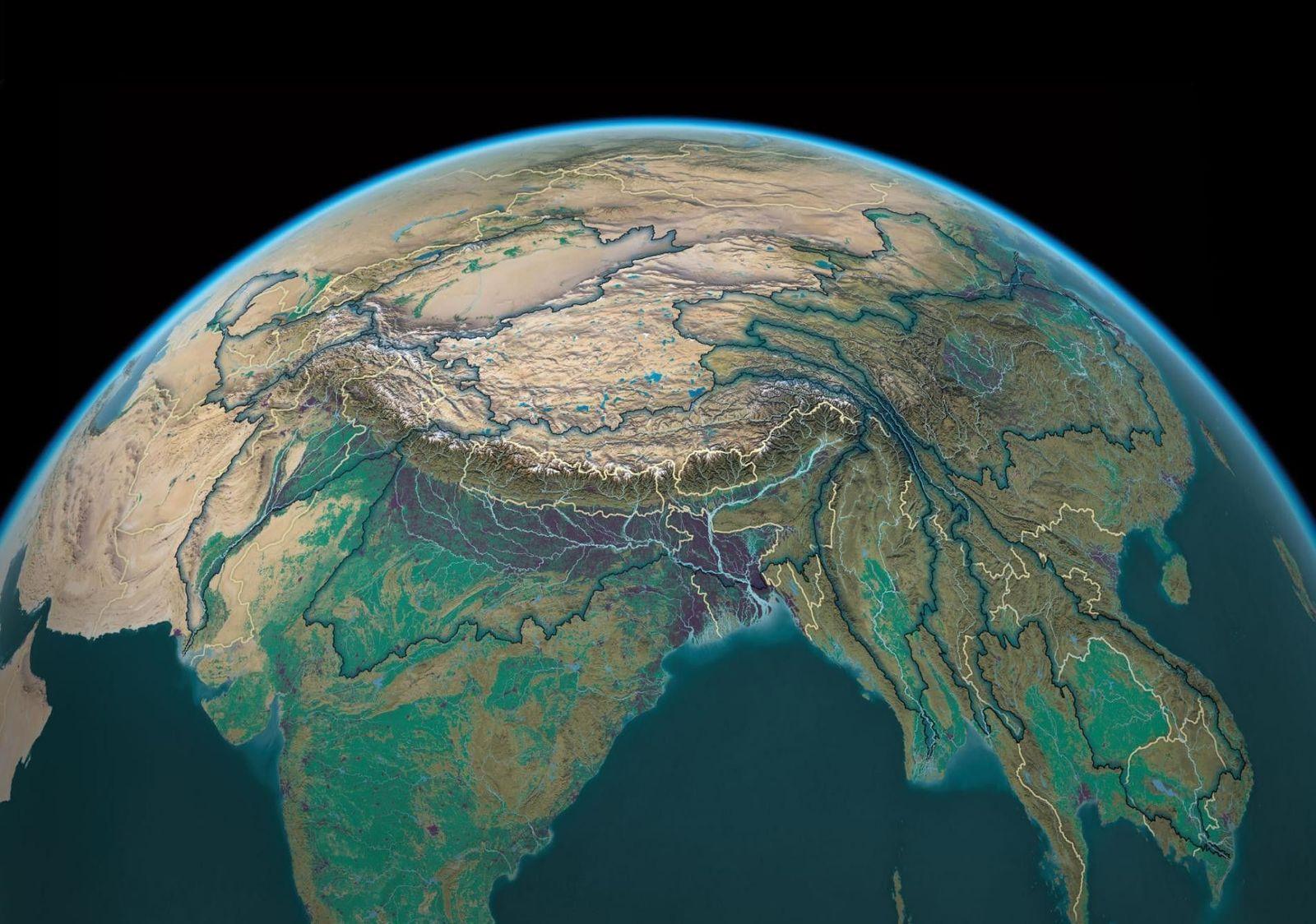Ríos vitales de Asia