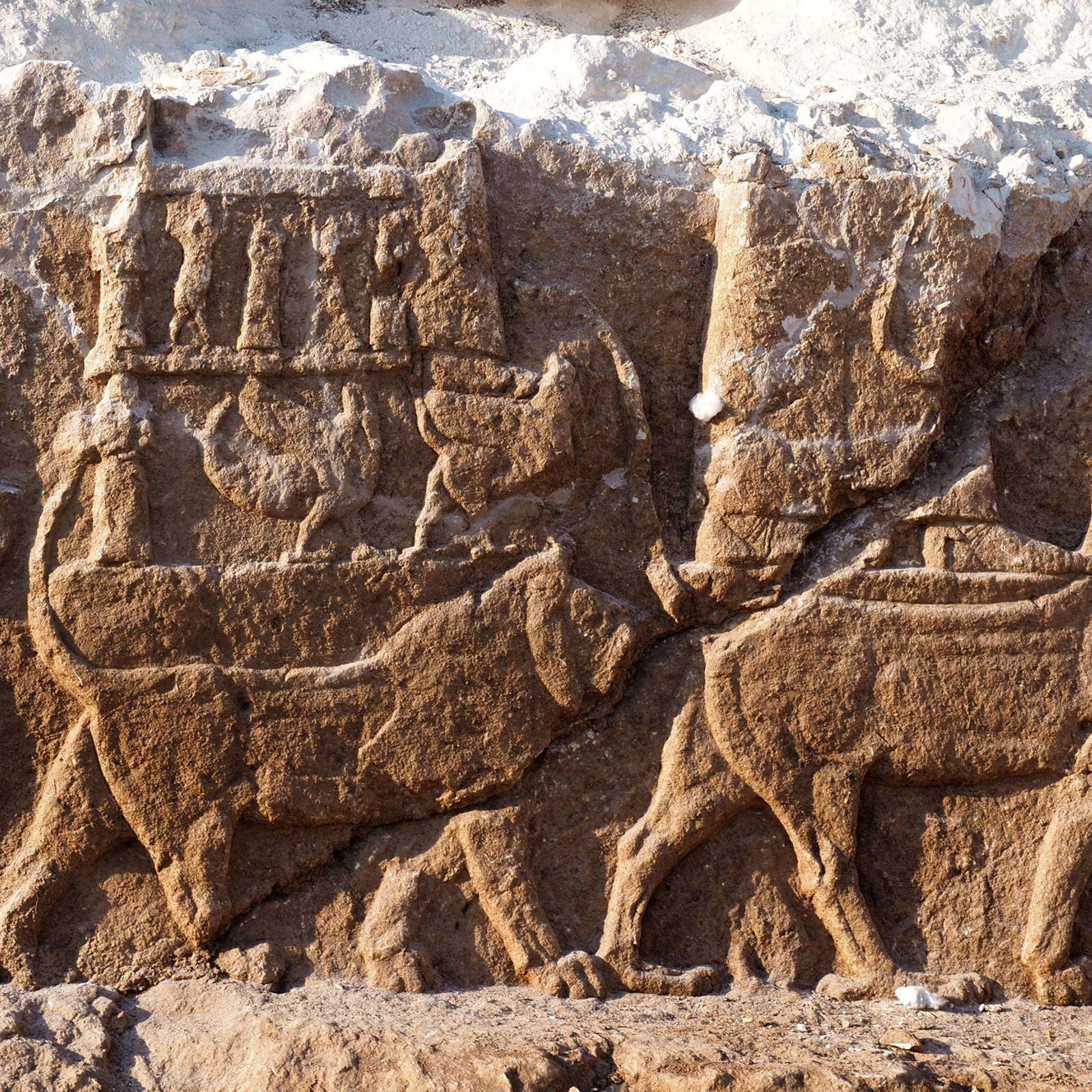 Grabado asirio