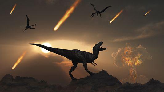 Los volcanes podrían haber ayudado a restaurar la vida tras el impacto del asteroide que acabó ...