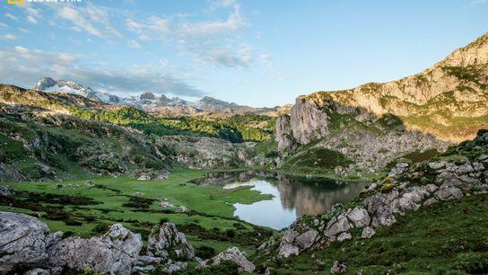 Asturias, lago de la Ercina