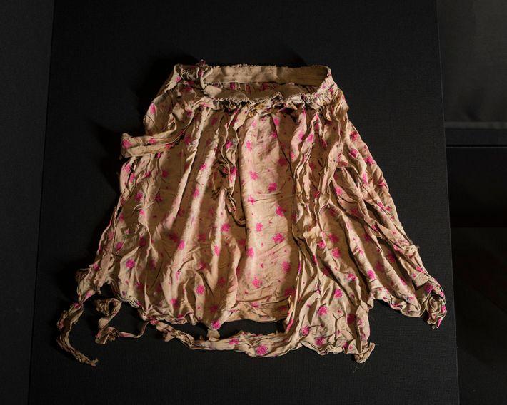 Foto de la falda de Tomie Yamane