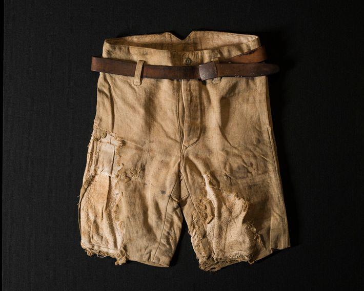 Foto de los pantalones de Jiro Mitsuda