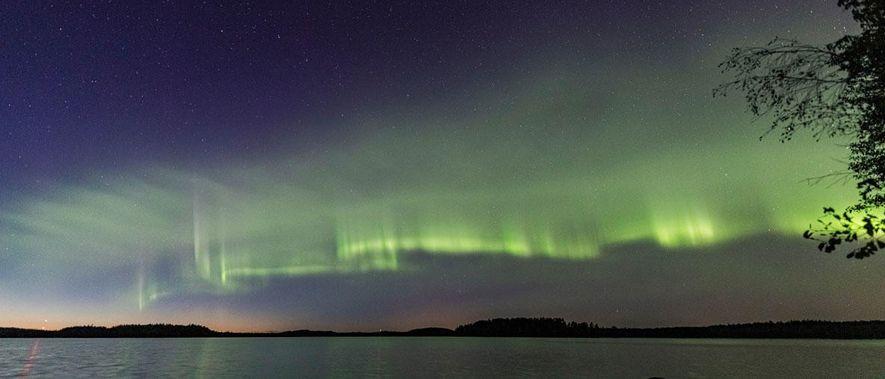 Descubren un nuevo tipo de aurora boreal en Finlandia