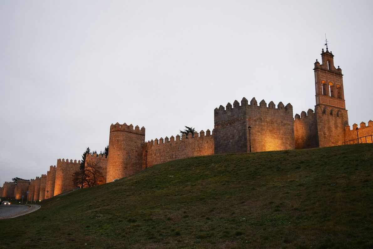 Lugares Patrimonio Humanidad España 06 Casco Antiguo Ávila