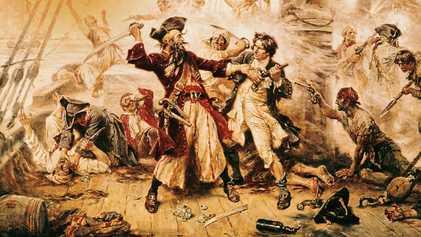 Descubiertos fragmentos de un libro del siglo XVIII en el barco de Barbanegra