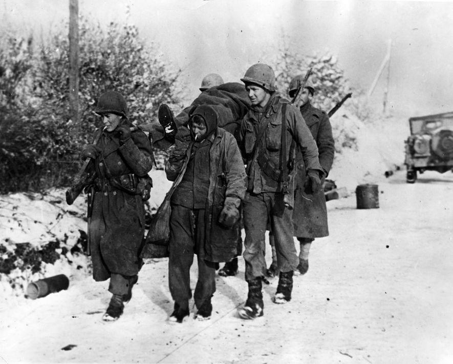 El rumbo de la batalla ya había cambiado cuando, a principios de enero, un prisionero alemán ...