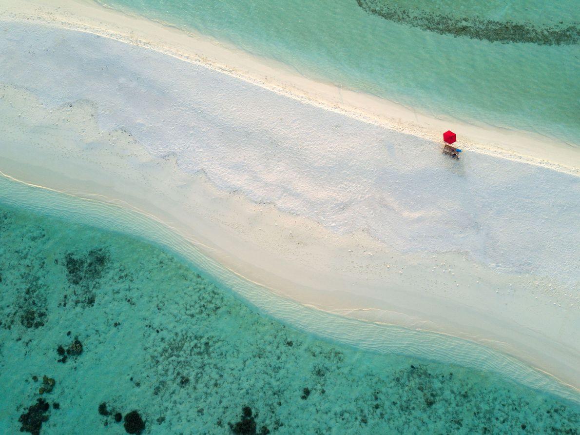 Atolón de South Ari, las Maldivas