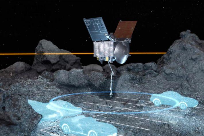 La sonda OSIRIS-REx
