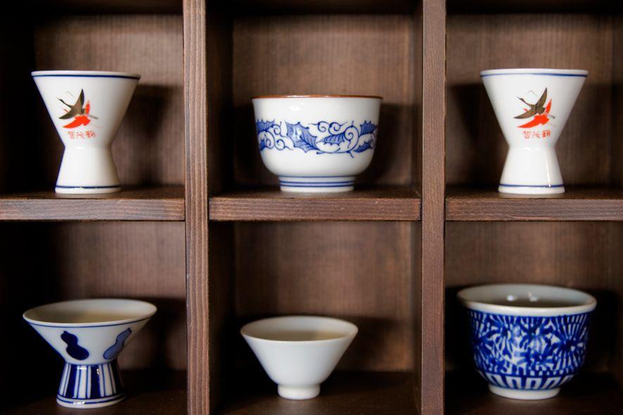 Cuencos de sake