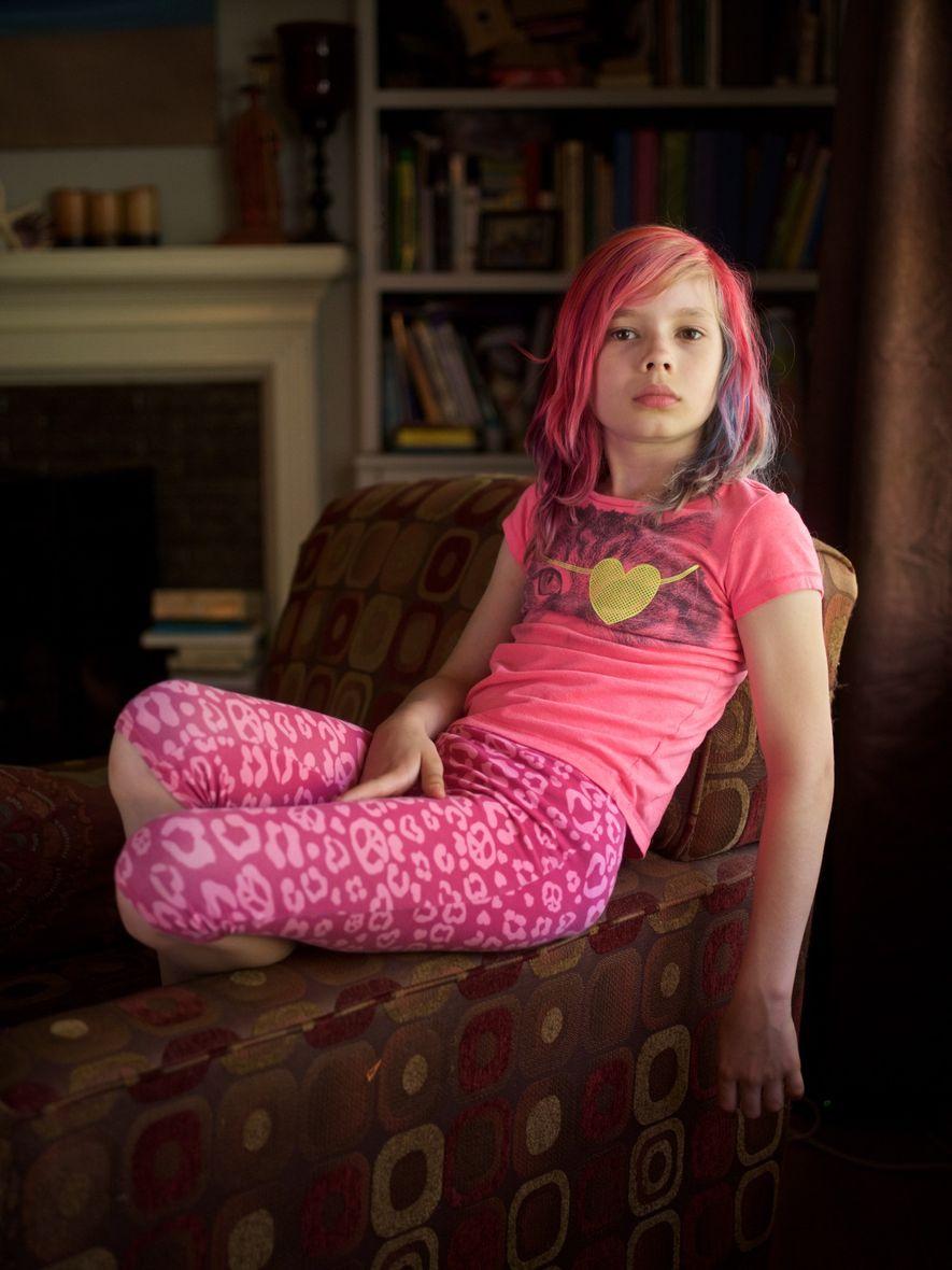 Kansas City, Misuri  Avery Jackson, una niña transgénero de nueve años, apareció en la portada del número ...