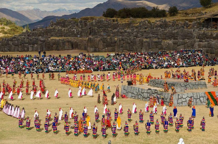 El festival tradicional peruano de Inti Raymi culmina el 24 de junio.