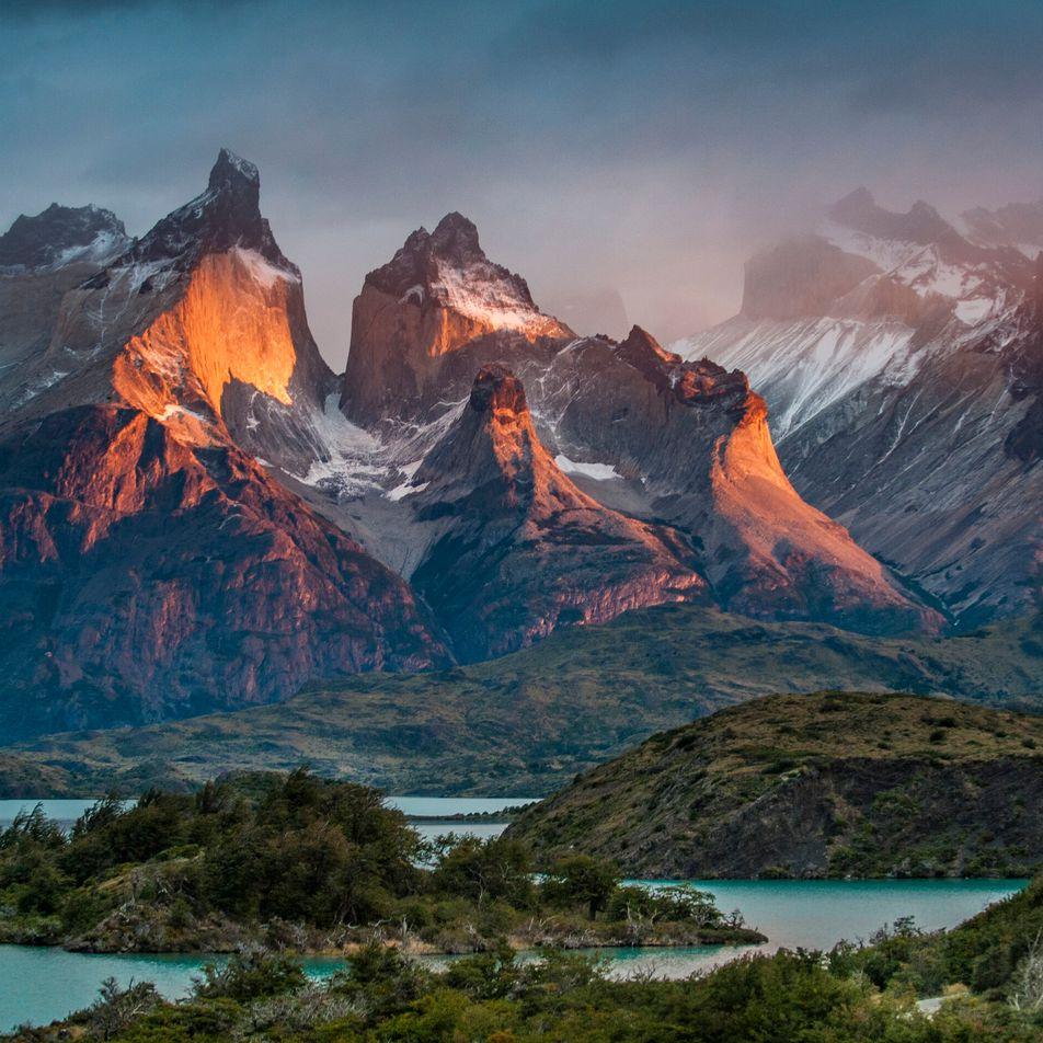 Disfruta del patio de recreo natural de Chile