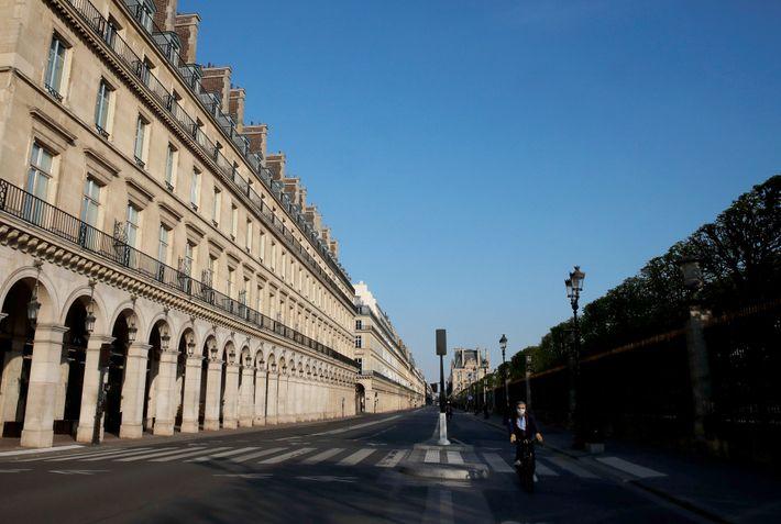 Rue de Rivoli, París