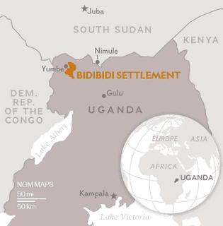 Mapa de Bidibidi