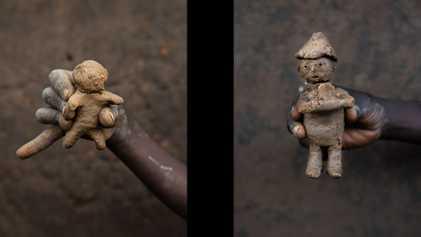 Los juguetes de los niños refugiados de Bidibidi