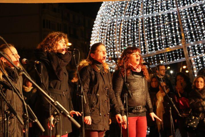 Encendido de las luces de Navidad en Bilbao