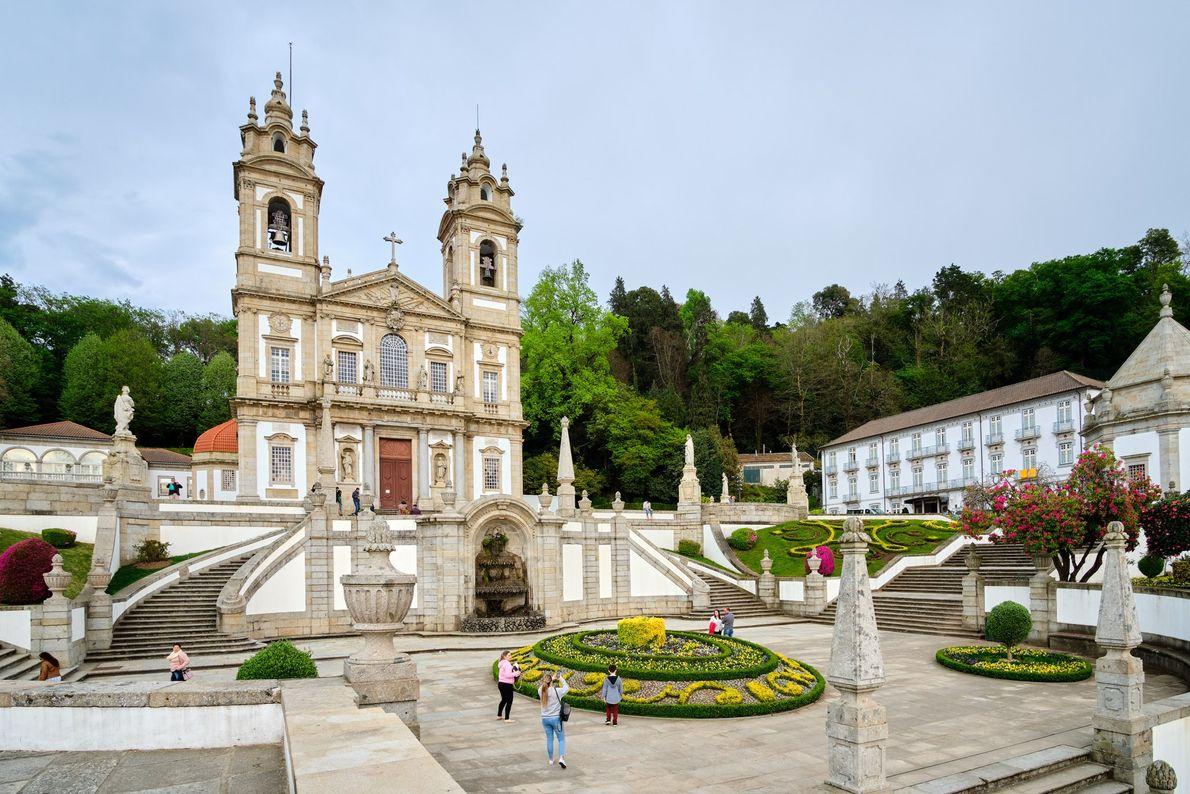 Santuario del Buen Jesús del Monte en Braga, Portugal
