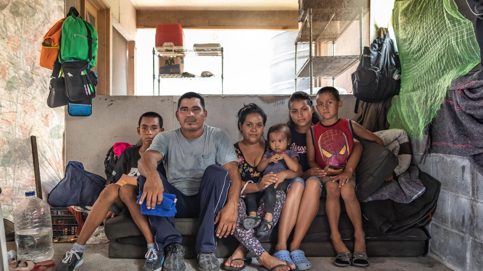 Familia de El Salvador