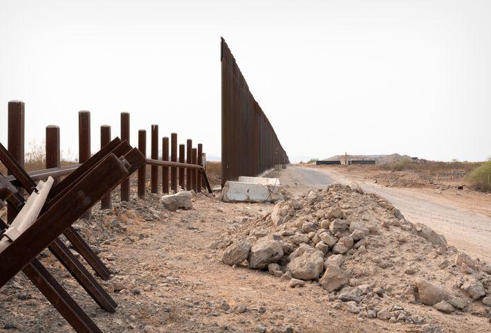 Muro fronterizo de Estados Unidos
