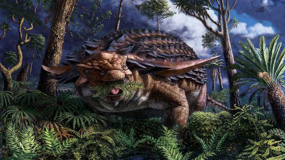 Esta fue la última comida de un dinosaurio que vivió hace 110 millones de años
